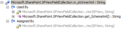 Analyzing SPViewFieldCollection.m_strInnerXml