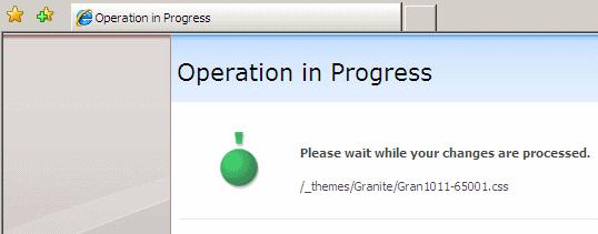 Granite-Themed SPLongOperation