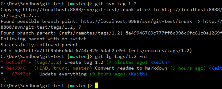 git svn tag